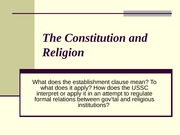 The_Constitution_and_Religion Lecture
