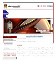 Dual Line Dose Feeder_ Dual Line Lubrication Systems