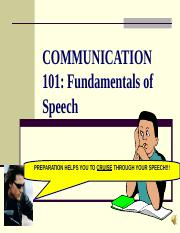 COMM 101SpeechPreparation-2