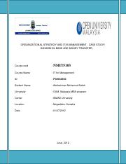 Information Technology for Management- Assingment