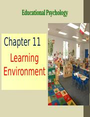 Chapter 11 Learning Environment.pptx