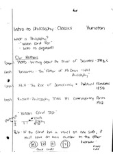 "PHI 120 ""What is Philosophy?"" Notes"