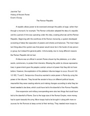 The Roman Republic Essay