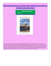 Physics giancolisixth edition 1pdf pdf physics giancolisixth 1 pages physics principles with pdf fandeluxe Image collections