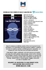 The Selfish Gene (Richard Dawkins)_Macat StudyGuide