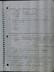 Calc 221 Lecture Notes 4