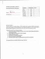 Exam 3 solution manual