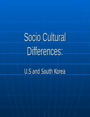 Checkpoint South Korea Sociocultural Report.ppt