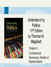 chapter4-ConstitutionalDemocracy_ModelsOfRepresentation.ppt