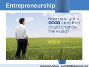 Entrepreneurship_KIC_ hRole of Team, Mortivation and Leadership_Recorgnizing global Business opportu