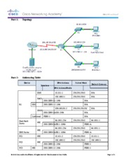 8.3.2.8 Packet Tracer - Troubleshooting IPv4 and IPv6 Addressing Instructions