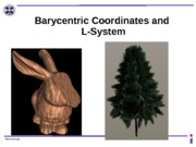 17.Barycentric Coordinates and LSystem