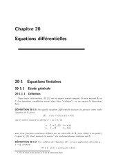 Equations_differentielles