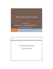 Lecture 4 Steady-state conduction student