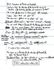 Lecture notes chapter 4