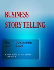 Business Story Telling PPT.pptx