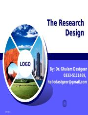 research design.pptm