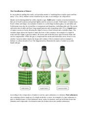 Forum_Lesson 1_Teaching Chemistry for Understanding_The Classification of Matter.docx