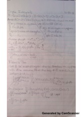 Triple Integrals Lecture Notes