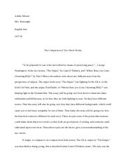 Ashley Mosser Compare and Contrast Essay English 1 AD.docx