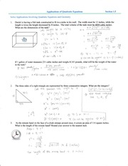 math1200-  section 1.5 Notes