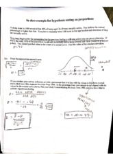 "Practice Problems for ""Hypothesis Testing on Proportions"""