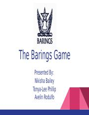 Barings Bank Case Study
