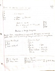 Analytic Consequence Notes