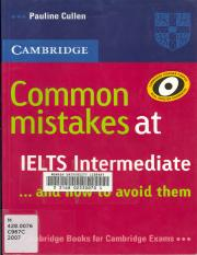 common mistakes at ielts advanced pdf