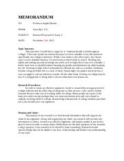 Essay 4 Research Proposal