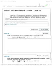 Preview Test  Tax Research Exercise - Chapt 11.pdf