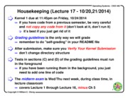 Lecture Note 17