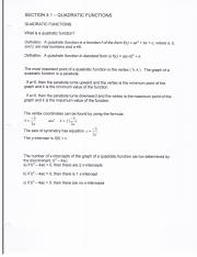 MATH 1023 Section 4 Notes
