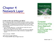 4. Network Layer