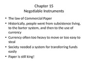 Chapter 15 Negotiable Instruments.pptx