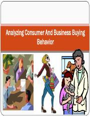Analysing Consumer and Business Buying Behaviour.pdf