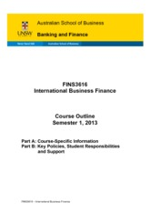 FINS3616 International Business Finance(2)