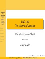 January 21 What is human language, II.pdf