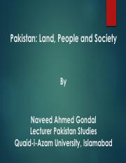 Lecture Geography_ Land and People of Pakistan.pdf