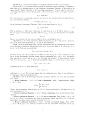 Advanced Calc 1: Homework 3 Solutions