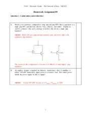 HomeworkAssignment09Solution