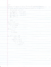 4.4 Properties of Logarithms - Solving Equations