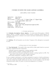 Syllabus Math 253 Sp07