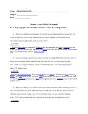 English_1_Writing_Process__Do_Now_-Editing_Paragraphs