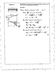1107_Mechanics Homework Mechanics of Materials Solution
