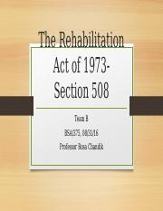 The Rehabilitation Act of 1973- Section 508 (update 1).pptx