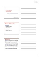 Chapter 3 Handouts
