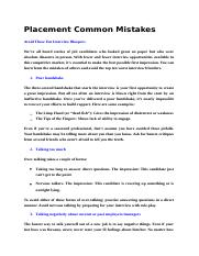 Placement Common Mistakes.docx.doc