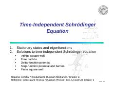 Schroedinger equation-slides
