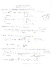 Orgo 2 Chapter 8 RXNS